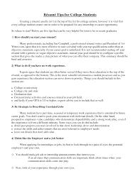 college internship resume examples resume resume examples college student resume examples college student medium size resume examples college student large size