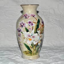 Toyo Vase Vase White Orchid Porcelain Toyo Japan From Artsnends On Ruby Lane