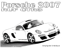 sports car coloring page coloring pictures of cars