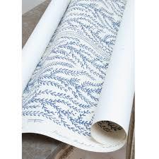 aphrodite hand printed wallpaper blue u2013 liefalmont