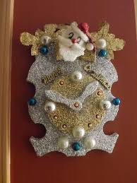 Christmas Decoration In Home Ceramics Simply Grateful Housewife