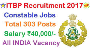 Jobs H M by Itbp Recruitment 2017 Latest 10th Pass Government Job Apply