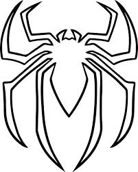 free printable spiderman logo coloring pages lego print venom