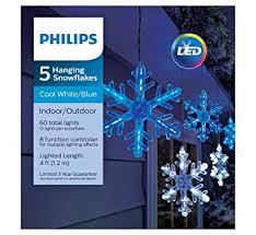 philips 5 count led blue cool white color changing