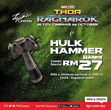 strand mall get this limited hulk hammer combo special facebook