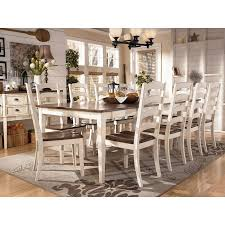 Ashley Furniture Dining Sets Burnella Piece Outdoor Rectangular - Ashley dining room chairs
