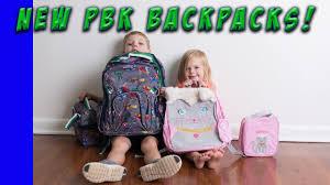 Pottery Barn Mackenzie Backpack New Backpacks From Pottery Barn Kids Youtube