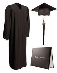 cap gown and tassel matte black cap gown tassel diploma cover graduationsource