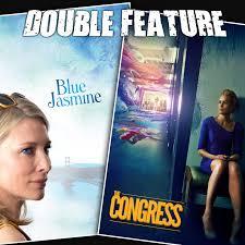 blue jasmine the congress double feature