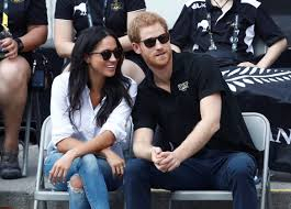 prince harry and meghan markle were photographed together in