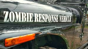 zombie response jeep car stickers u2013 mahindra thar u2013 zombie response vehicle u2013 theangrysaint