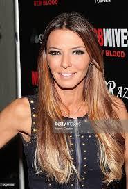 alicia dimichele garofalo haircut drita davanzo attends the mob wives season 4 premiere party at on 5 picture id453875699