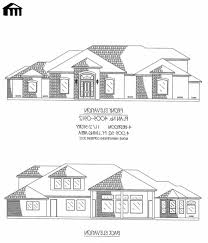 4 bedroom house plans with basement marvelous house plans archaic