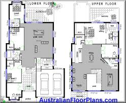 Duplex Floor Plans Australia 2 Story Duplex Plans An Earthbag Wall Separates The Two Units