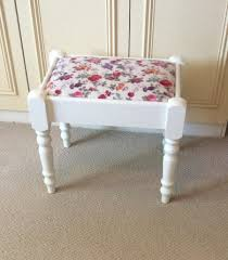 traditional bedroom dressing table stool shabby chic country
