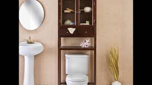 Over The Toilet Bathroom Storage by Above Toilet Storage Youtube