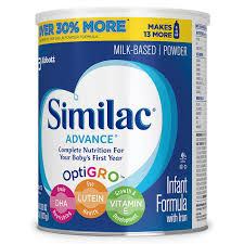 similac advance infant formula with iron baby formula powder