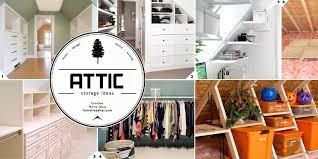 finished and unfinished attic storage ideas fetch deals daily