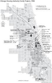chicago housing projects map chicago housing authority family projects