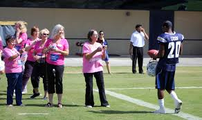 Brea Flag Football Survivors Meet Chargers Los Angeles Chargers
