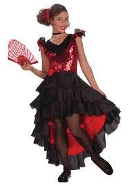 halloween costumes ca child spanish dancer costume