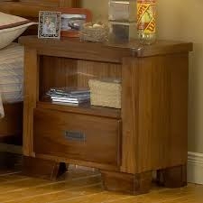 American Woodcraft Furniture Bedroom Cool American Woodcrafters Wood Nightstand For Your