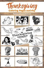 printable thanksgiving activities natural homeschool