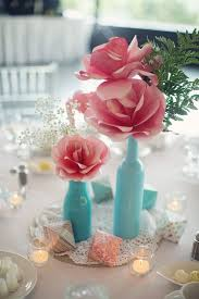 paper flower centerpieces 30 budget friendly paper flower wedding ideas weddingomania
