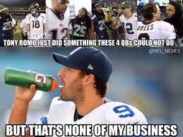 Romo Interception Meme - 44 best memes of tony romo dallas cowboys beating the seattle