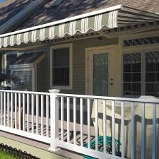 nushade retractable patio awning retractable patio awnings