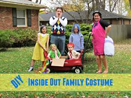 inside out costumes diy inside out family costume home simple