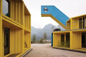 buildings made out of shipping containers welcome to the future
