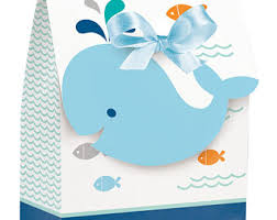 baby shower whale theme whale favor boxes etsy