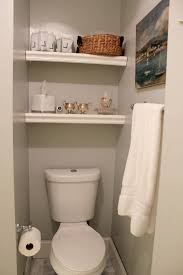 Bathroom Shelf Over Toilet by Bathroom Bathroom Shelves Over Toilet Diy Modern Double Sink