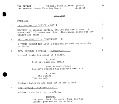 a simple guide to formatting television scripts screencraft