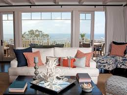 interior chic living room design cool coastal living room