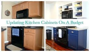 how to redo kitchen cabinets on a budget how to redo kitchen cabinets on a budget medium size of to refinish