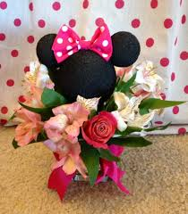 minnie mouse baby shower centerpieces holiday crafts pinterest