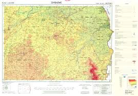 Zimbabwe Map The Soil Maps Of Africa Display Maps