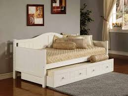 Daybed With Trundle And Mattress Included Daybed Size Frame Furniture Day Bed With Trundle 2