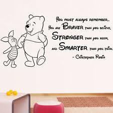 winnie pooh quote furniture u0026 diy ebay