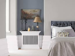 Yellow Feature Wall Bedroom As A Neutral Backdrop Or A Feature Wall Greys Can Be Modern Or