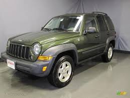 2006 green jeep liberty 2006 jeep green metallic jeep liberty sport 4x4 26355722 gtcarlot