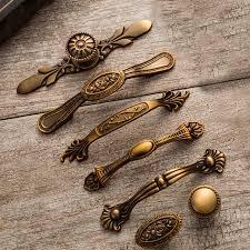 pomelli vintage 5 pz vintage maniglie delle porte nobile antico cassetto tira