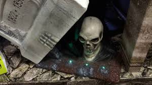 lil skelly bones spirit halloween spirit halloween 2016 escape from the grave tombstone youtube
