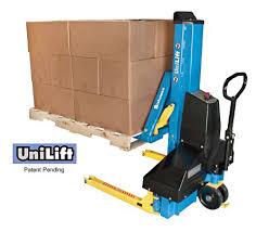 Pallet Lift Table by Unilift Pallet Transporter U0026 Positioner Pallet Jacks Daco Corp