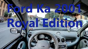 pov drive ford ka 1 3 petrol royal edition youtube