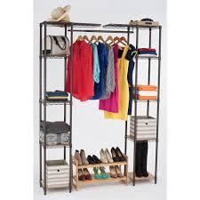 Closet Organizer Walmart Closet Expandable Closet Organizer For Bedroom Storage System