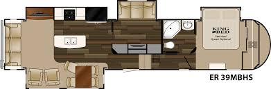 Cyclone 4200 Floor Plan Heartland Elkridge 2015 Er 39 Mbhs Has Second Tv Room With Loft