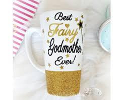godmother mugs fairy godmother mug etsy